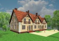 Проект дом-блок 2